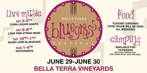 Overnight Camping at Bluegrass Festival