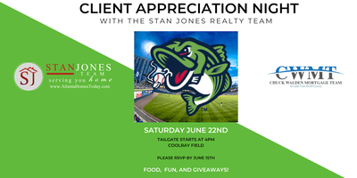 Client Appreciation Night with The Stan Jones Realty Team