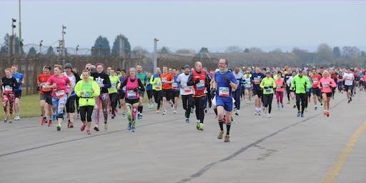 Heyford Air Base Half Marathon, 10K, 5K & Junior Race