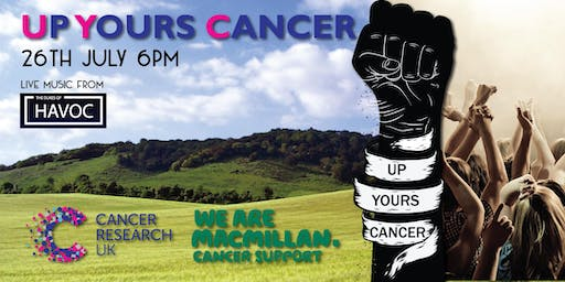 Up Yours Cancer - Celebrating 20 years of kicking cancer's arse