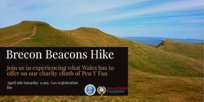 Charity Brecon Beacons Hike