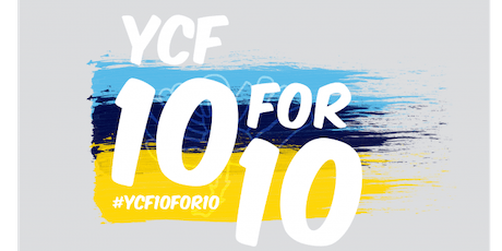 YCF 10 for 10 - Wing walk for charity tickets
