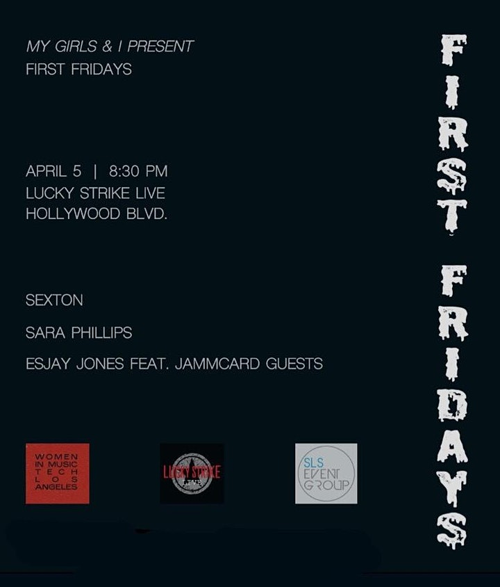 FIRST FRIDAYS presented by My Girls and I at Lucky Strike Live image
