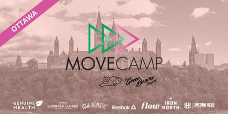 MoveCamp Ottawa - Free Lunchtime Fitness Events at Parliament Hill tickets
