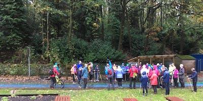 British Nordic Walking Exel Challenge Event : Rivington, Bolton : Saturday 12 October