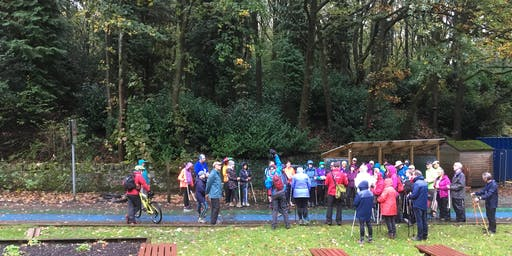 British Nordic Walking Exel Challenge Event : Rivington, Bolton : Saturday 12 October