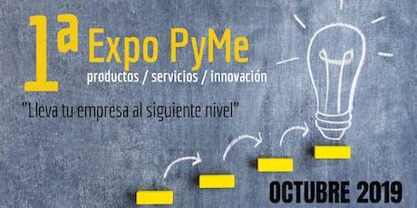1ª Expo Pyme Cuautitlán Izcalli entradas