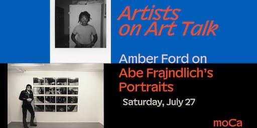 Artists on Art: Amber Ford on Abe Frajndlich's Portraits