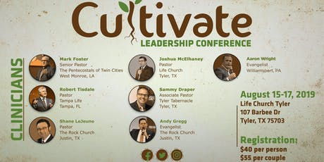 Cultivate Leadership Conference 2019 tickets