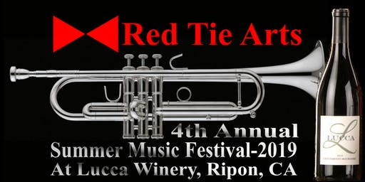 Red Tie Arts' Summer Music Series. 2nd of the series, July 13 The Sun Kings