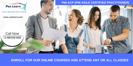 PMI-ACP (PMI Agile Certified Practitioner) Training In Lemoore, CA tickets