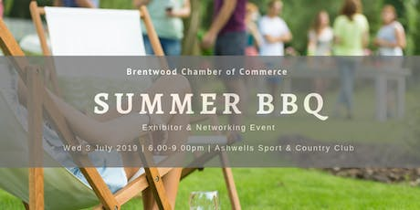 Summer Barbecue 2019 with Exhibitor Stands & Networking tickets