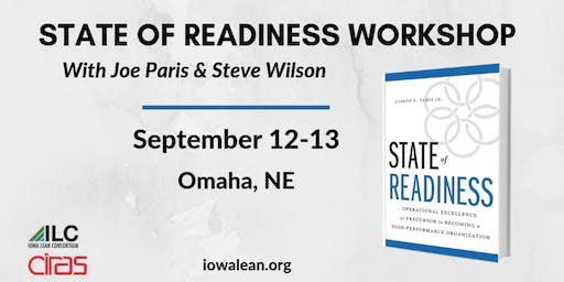 ILC - State of Readiness Workshop