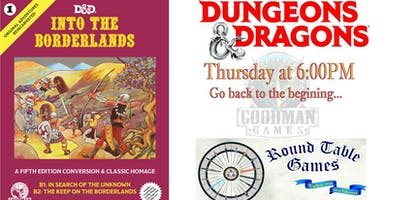 Dungeons & Dragons 5e Thursdays at Round Table Games