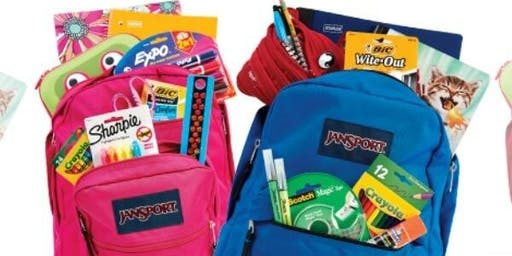 Back to School Supplies Drive & Ice Cream Social