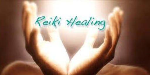 Monthly Reiki Share Meetup