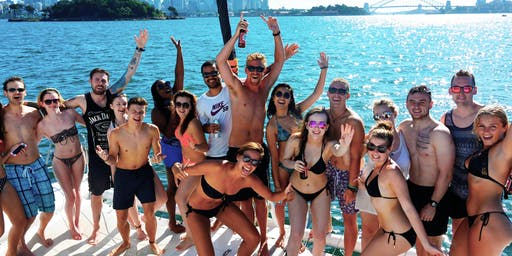 MIAMI PARTY BOAT WITH WATERSPORTS!
