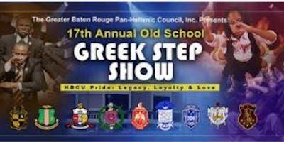 Greater Baton Rouge NPHC Old School Greek Step Show