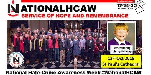 NationalHCAW 2019 - Service of Hope and Remembrance