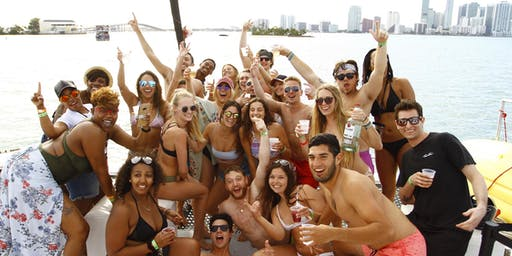 EXPERIENCE MIAMI SOUTH BEACH BOAT PARTY