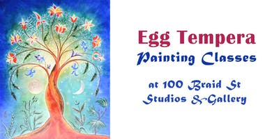 Egg Tempera Painting Classes
