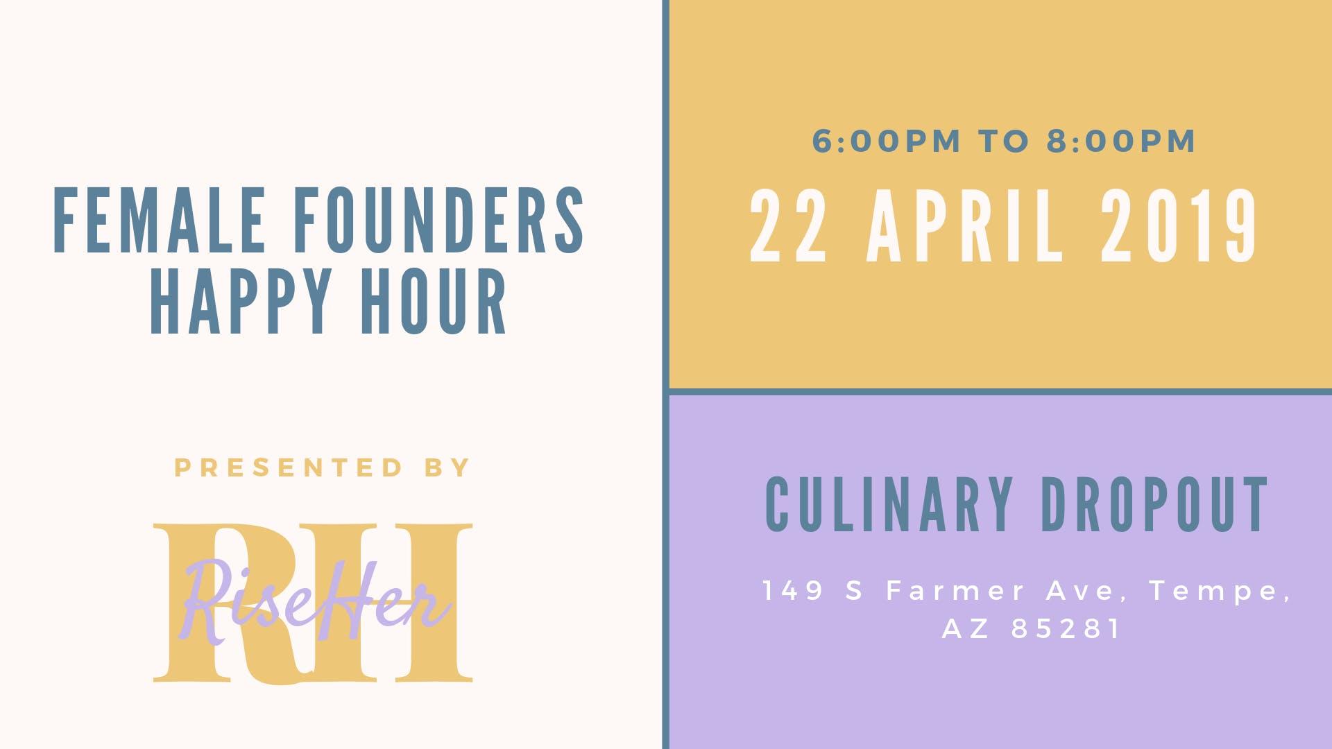 Female Founders Happy Hour - Arizona