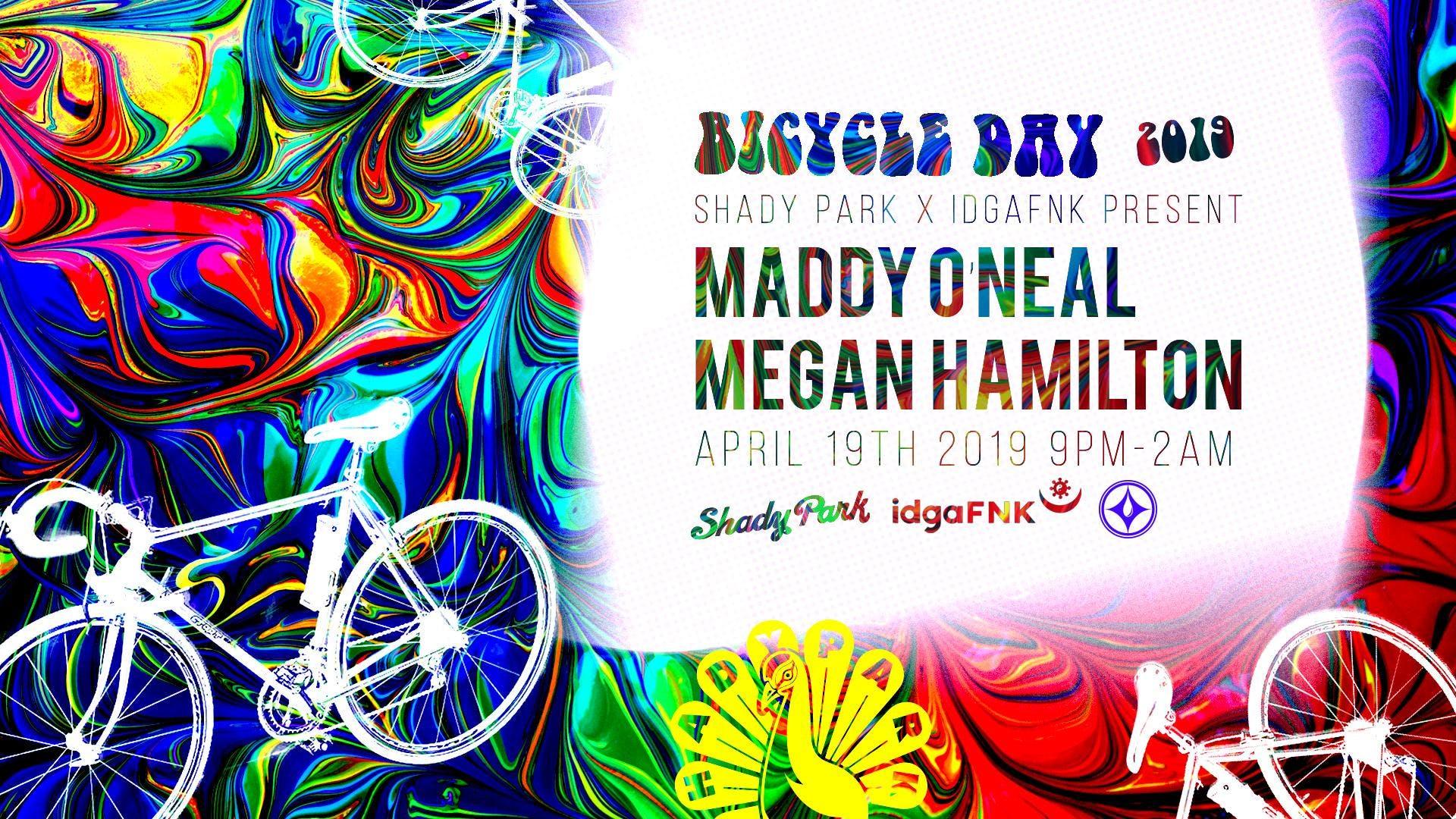 Bicycle Day: Maddy O'Neal and Megan Hamilton