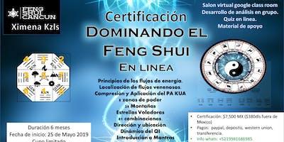 """Certificación en Linea  """"Dominando el Feng Shui""""  pago bimensual."""