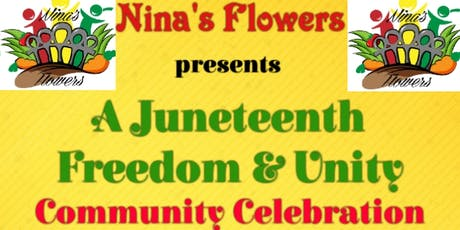 Juneteenth Freedom & Unity Celebration tickets