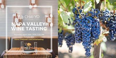 Napa Valley Wine Tasting @ Chai Yo Modern Thai