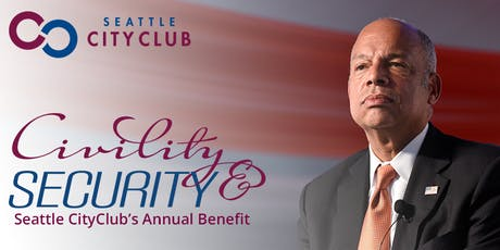 Civility & Security: Seattle CityClub's Annual Benefit tickets