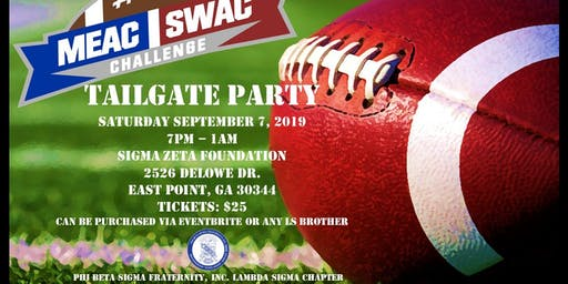MEAC/SWAC CHALLENGE TAILGATE PARTY