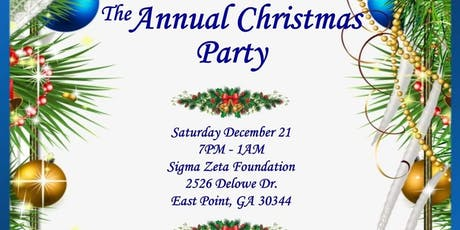 ANNUAL CHRISTMAS PARTY tickets