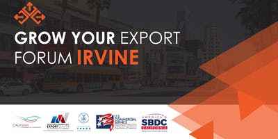 Grow Your Export Forum - Irvine