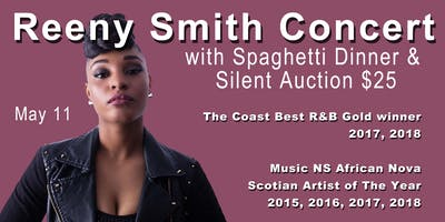 Reeny Smith Trio Concert, Silent Auction and Spaghetti Dinner.