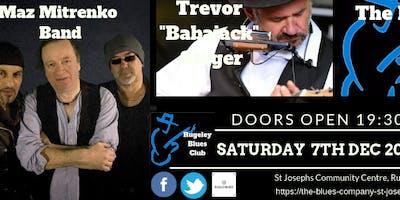 "FIREBRAND BLUES  Maz Mitrenko Band,Trevor ""Babajack"" Steger,The Blues Co"