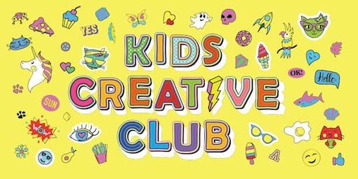 Kids Creative Club Term 2 - Collingwood