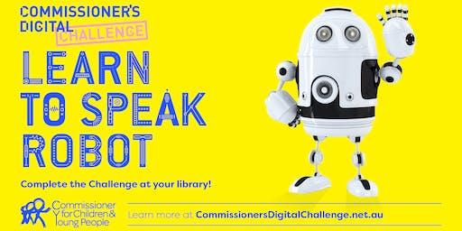 July School Holidays: Commissioner's Digital Challenge
