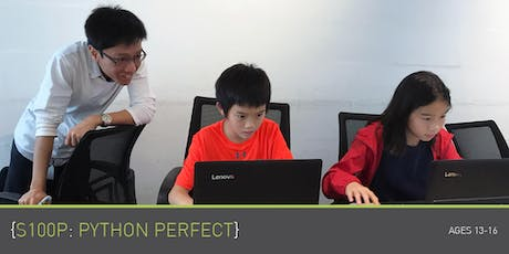 Coding for Teens - S100P: Python Perfect - @ Parkway Parade (3x5H) tickets