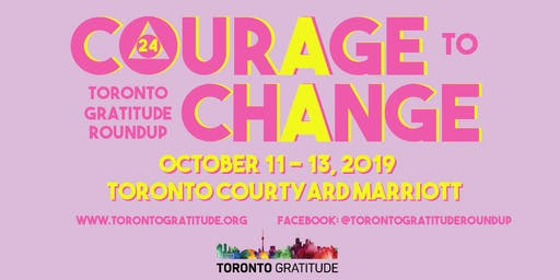 Toronto Gratitude Roundup 2019 - Conference