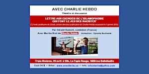 Trois-Rivières- Avec Charlie Hebdo *** Théâtre et...