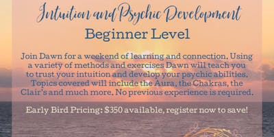 Intuition and Psychic Development -Beginner Level