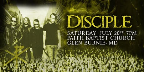 Disciple | Glen Burnie, MD tickets