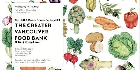 The Half A Dozen Dinner Series Vol 3  tickets