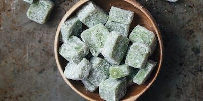 Make Mochi (Green Tea & Black Sesame) at Sunset Community Center