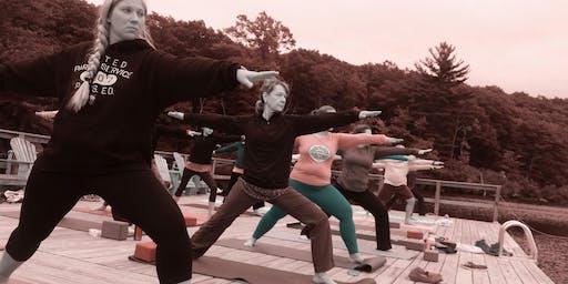 Yoga & Hiking Weekend at Corman AMC Harriman Outdoor Center