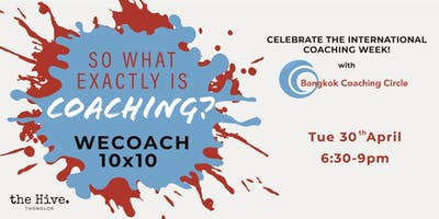 WECOACH 10x10 - Celebrate the International Coachi