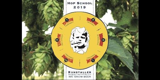 Ruhstaller Hop School 2019