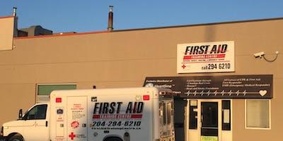 "Emergency First Aid w/CPR\""C\""/AED"