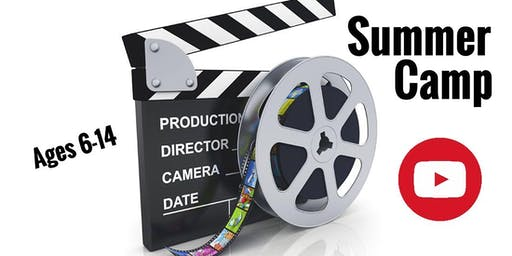 YouTube Summer Camp July 1-5 (Act, Film, Create)